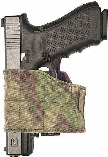 Warrior Universal Left Handed Pistol Holder ATACS-FG (W-EO-UPH-L-ATFG)