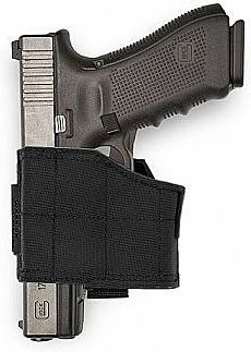 Warrior Universal Left Handed Pistol Holder Black (W-EO-UPH-L-BLK)