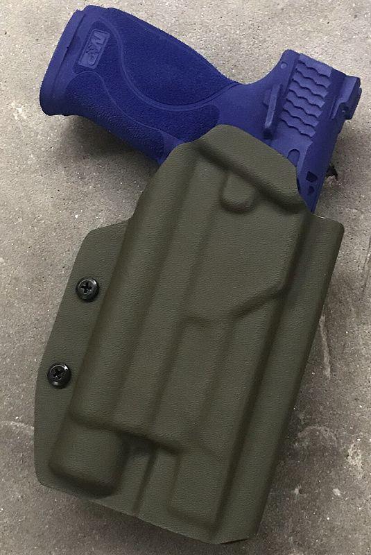 BJÖRN Taktické puzdro na zbraň PRO OWB LB G 17/34 s úchytom DD/OS, čierne
