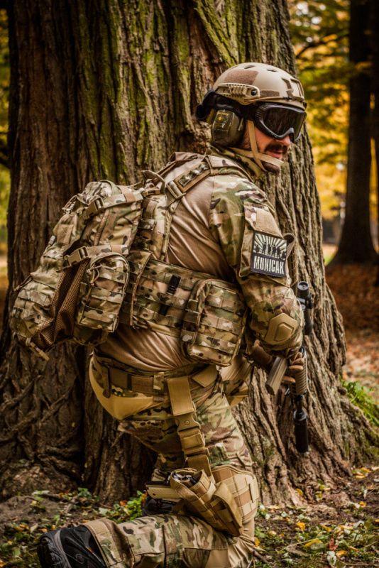 Takticke stehenné púzdro MOLLE MAX so zásobníkom, coyote, 30708R