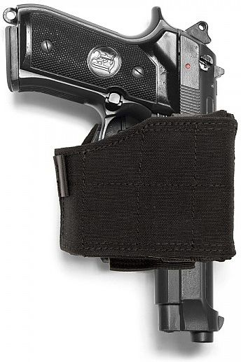 Warrior Universal Pistol Holder Black (W-EO-UPH-BLK)