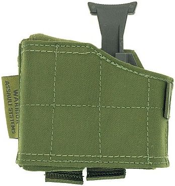 Warrior Universal Left Handed Pistol Holder Olive Drab (W-EO-UPH-L-OD)