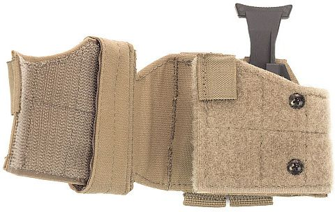 Warrior Universal Left Handed Pistol Holder Coyote (W-EO-UPH-L-CT)
