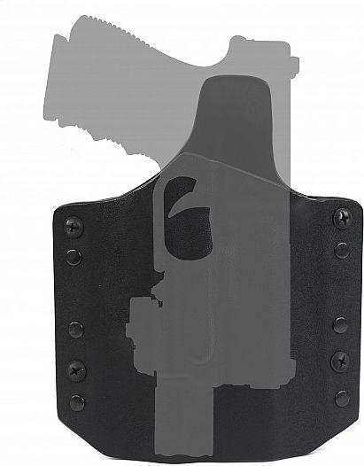 Warrior ARES Kydex Holster Glock-17 Black (W-EO-AHG17-BLK)