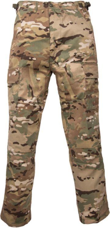MILTEC Detské nohavice BDU - multitarn (12031049)