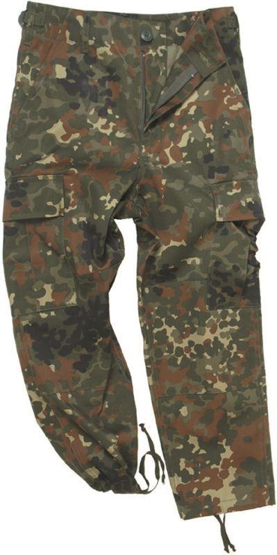MILTEC Detské nohavice BDU - flecktarn (12031021)