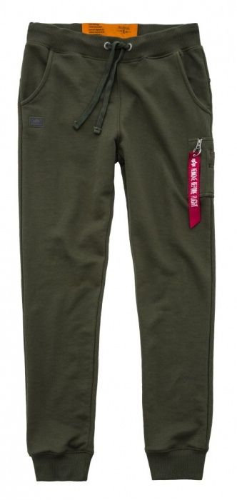ALPHA INDUSTRIES Dlhé nohavice X-Fit Slim Cargo Pant - dark green, (178333/257)