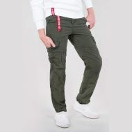 ALPHA INDUSTRIES nohavice RS Cargo Pant, dark olive, 178205/142