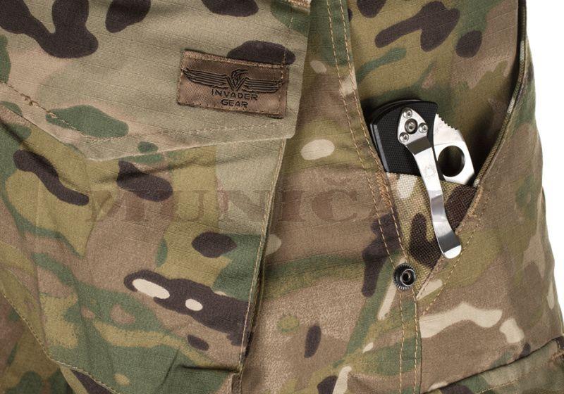 INVADER GEAR Dlhé nohavice Ranger Combat - multicam, (11562)