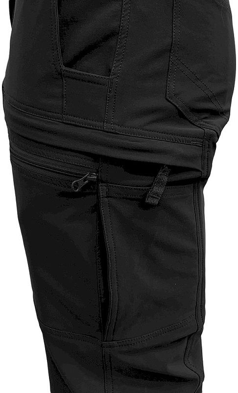 TEXAR Dlhé nohavice Dominus - čierne (01-DMN-PA)
