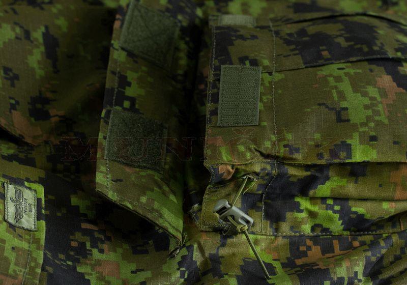 INVADER GEAR Dlhé nohavice Revenger TDU - digital woodland (9577)