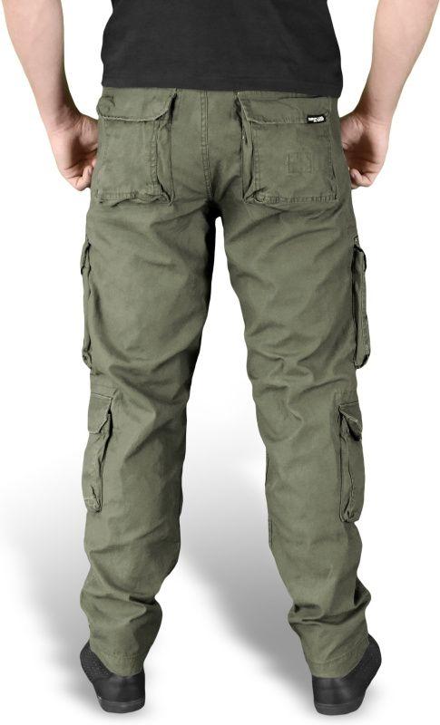 SURPLUS Dlhé nohavice Slimmy Airborne - olivové, (05-3603-61)