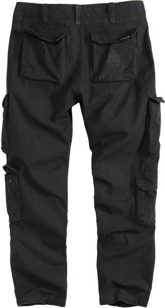 SURPLUS Dlhé nohavice Slimmy Airborne - čierne, (05-3603-63)