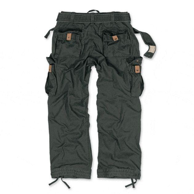 SURPLUS Dlhé nohavice Premium Vintage - čierne, (05-3597-63)