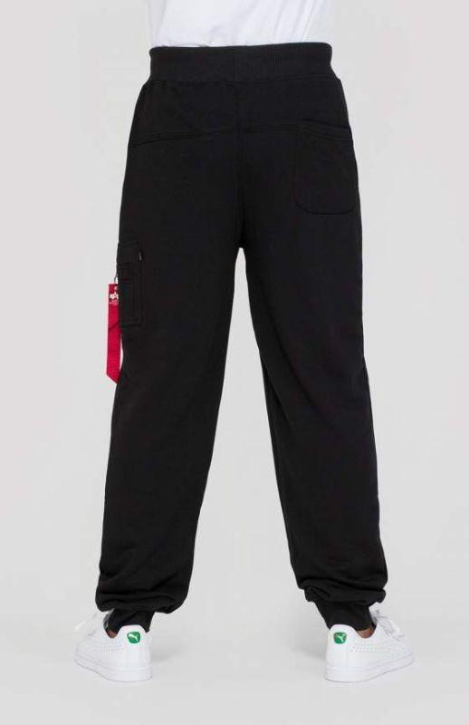 ALPHA INDUSTRIES Dlhé nohavice X-Fit Slim Cargo Pant - čierne, (178333/03)