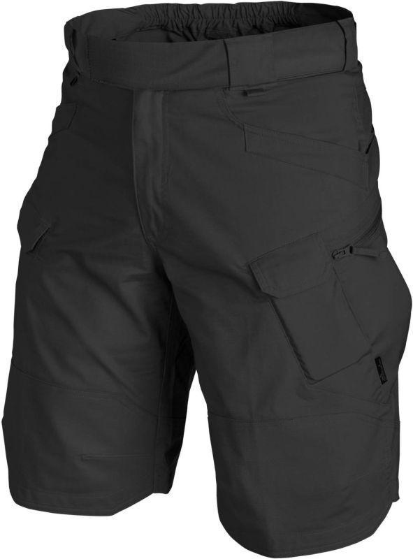 HELIKON krátke nohavice UTS, Ripstop, čierne, SP-UTK-PR-01