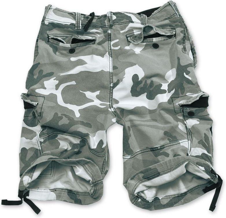 SURPLUS krátke nohavice Vintage, prané, metro, 07-5596-26