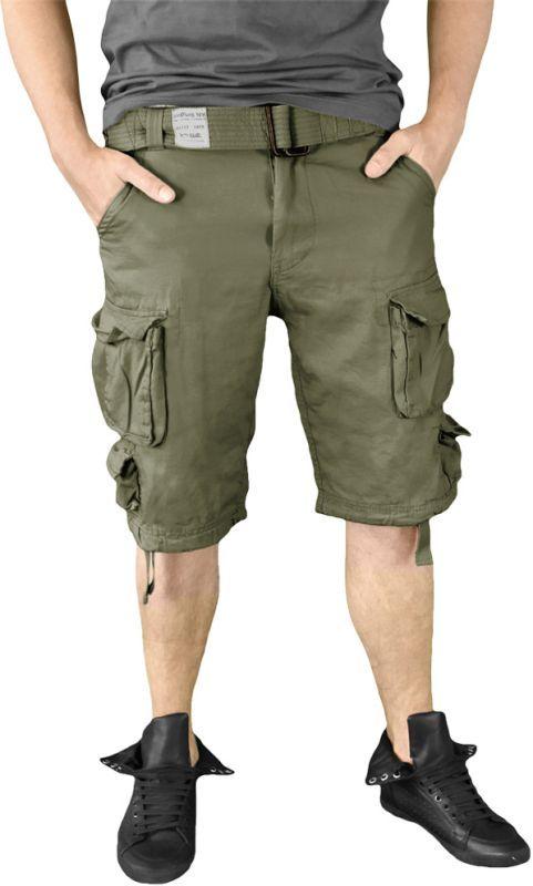 SURPLUS krátke nohavice Division, olivové, 07-5598-61