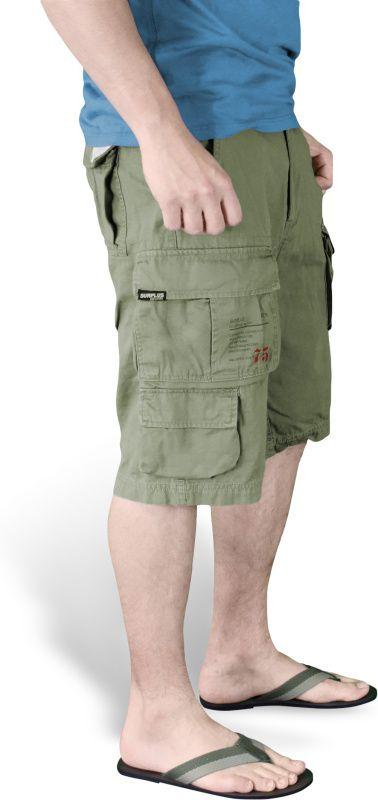 SURPLUS krátke nohavice Trooper, olivové, 07-5600-61