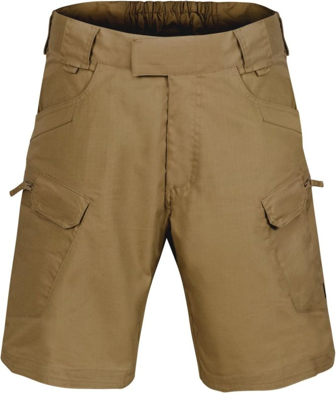 "HELIKON Krátke nohavice UTS 8,5"", Ripstop - čierne, (SP-UTS-PR-01)"