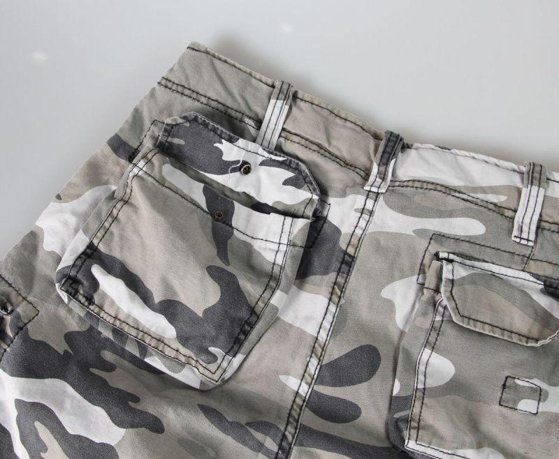 SURPLUS krátke nohavice Vintage Airborne, metro, 07-3598-26