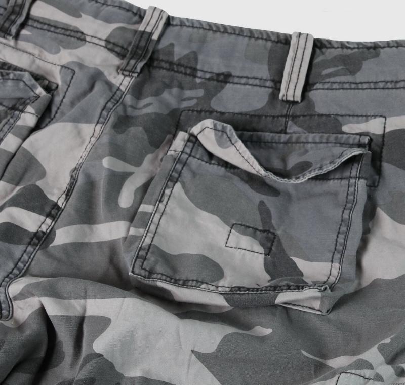 SURPLUS krátke nohavice Vintage Airborne, night camo, 07-3598-31