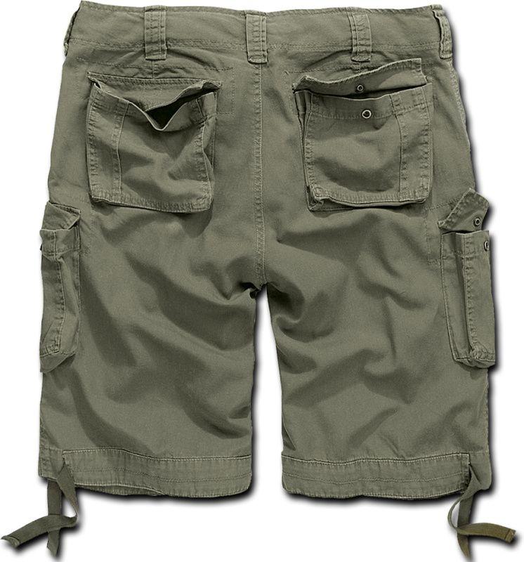 BRANDIT krátke nohavice Urban Legend, olivové, 2012/1