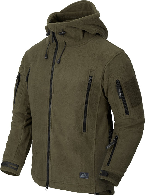 HELIKON bunda Patriot, fleece, olivová, BL-PAT-HF-02