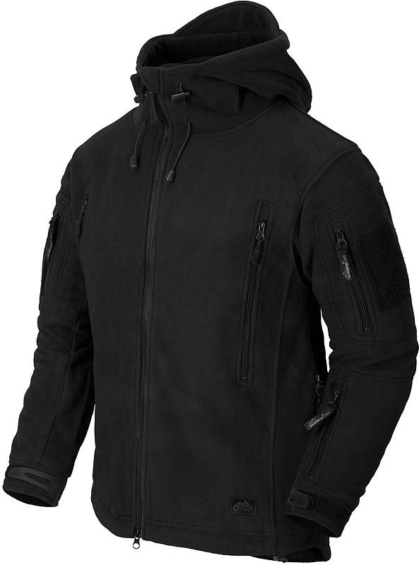 HELIKON bunda Patriot, fleece, čierna, BL-PAT-HF-01