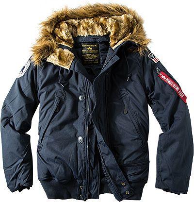ALPHA INDUSTRIES bunda Polar Jacket SV, modrá, 133141/07