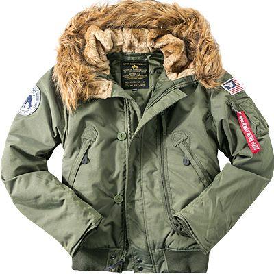 ALPHA INDUSTRIES Bunda Polar Jacket SV - dark green, (133141/257)