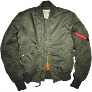 ALPHA INDUSTRIES Bunda MA-1 VF 59 - sage green (191118/01)