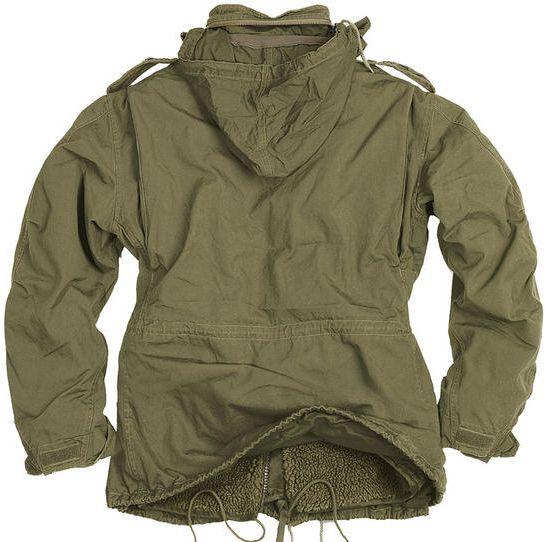 SURPLUS bunda M65 Regiment Jacket, olivová, 20-2501-61