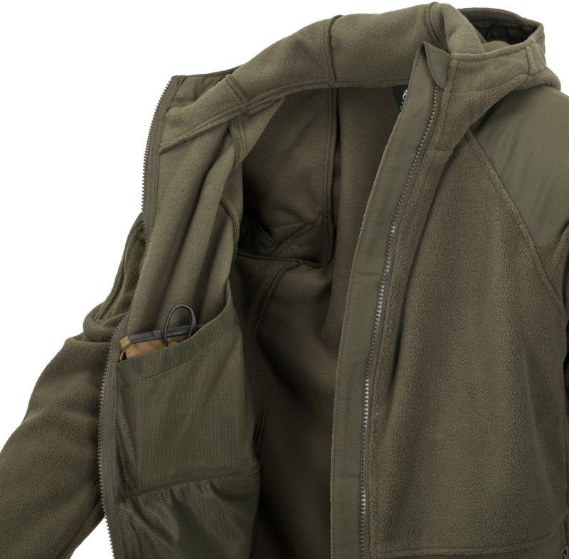 HELIKON Bunda CUMULUS Heavy Fleece - taiga green, (BL-CMB-HF-09)
