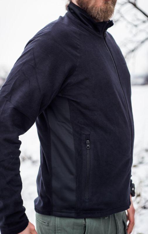 PENTAGON Bunda DROMEAS, fleece - čierna, (K08022-BLK)