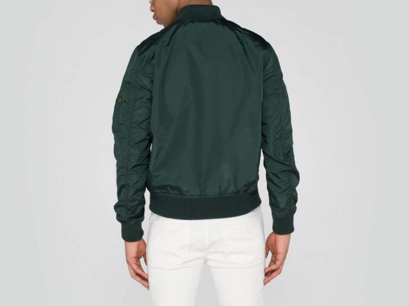 ALPHA INDUSTRIES bunda MA-1 TT, dark petrol, 191103/353