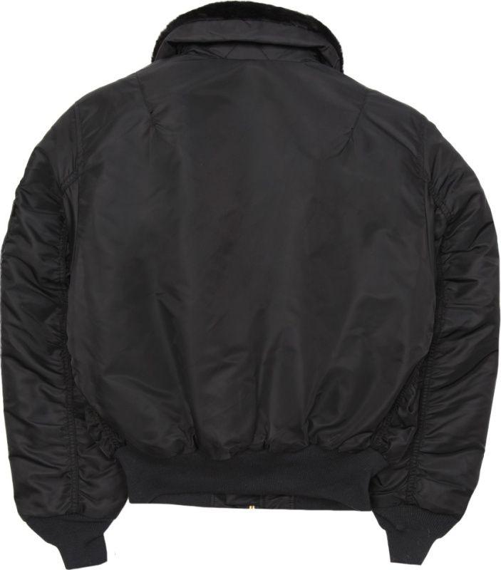 ALPHA INDUSTRIES bunda B 15, čierna, 100107/03