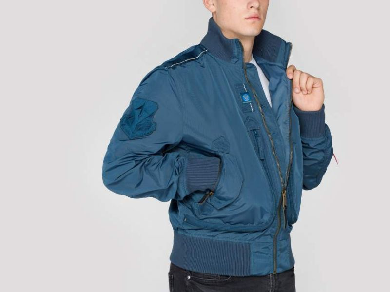 ALPHA INDUSTRIES bunda PROP, bold blue, 101102/352
