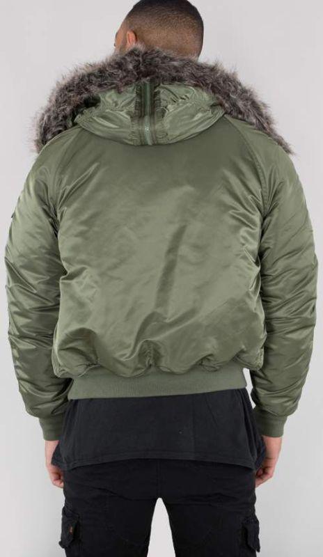 ALPHA INDUSTRIES Bunda N2-B VF 59 - sage green, (158142/01)