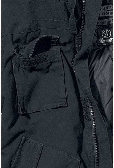BRANDIT bunda Bronx, čierna, 3107/2