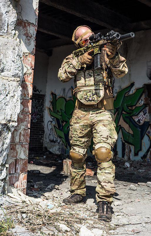 INVADER GEAR Combat blúza  - multicam (8263)