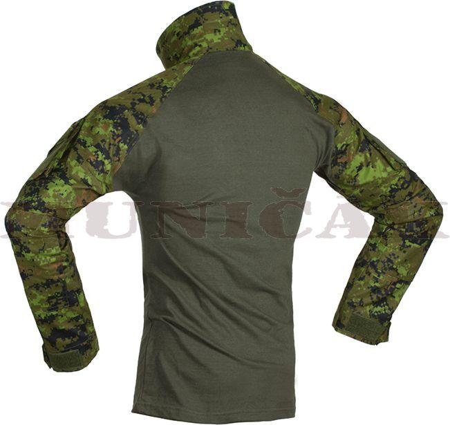 INVADER GEAR combat blúza, digital woodland, 9629