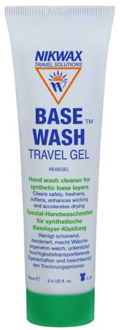 NIKWAX Prací a ošetrovací prostriedok Basewash Travel gel 100ml
