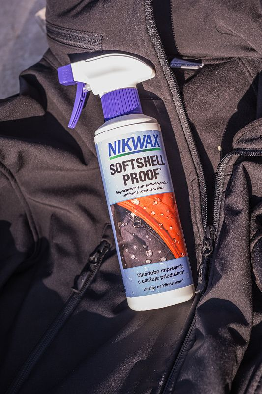 NIKWAX Impregnácia Softshell Proof sprej 300ml