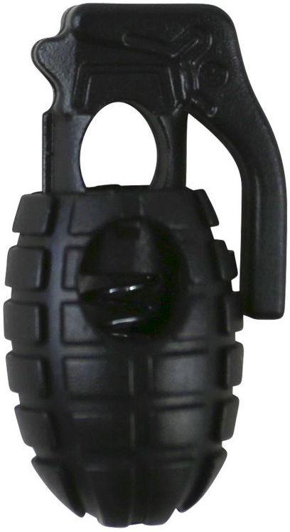 """MILTEC Koncovka na šnúru """"Cord Stopper Pineapple"""" - čierna (13458232)"""