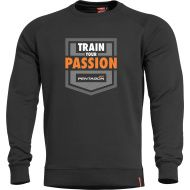 PENTAGON Sveter HAWK TRAIN YOUR PASSION - čierna (K09019-TP)