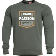 PENTAGON Sveter HAWK TRAIN YOUR PASSION - tmavo zelený (K09019-TP)