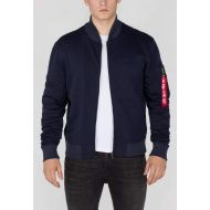 ALPHA INDUSTRIES Mikina X-Fit Sweat Jkt MA-1, rep. modrá, 168336/07