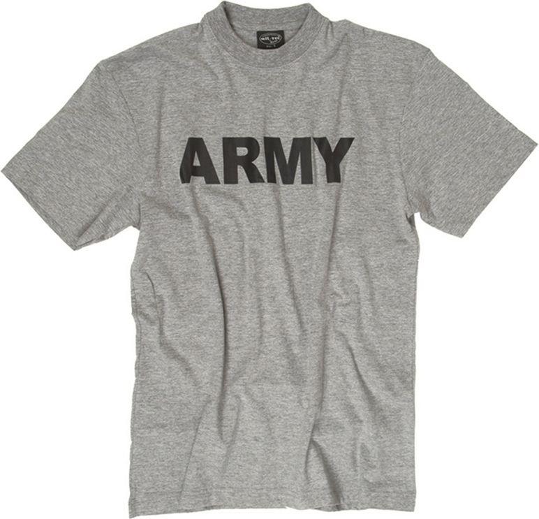 MILTEC Tričko ARMY - šedé, (11063008)