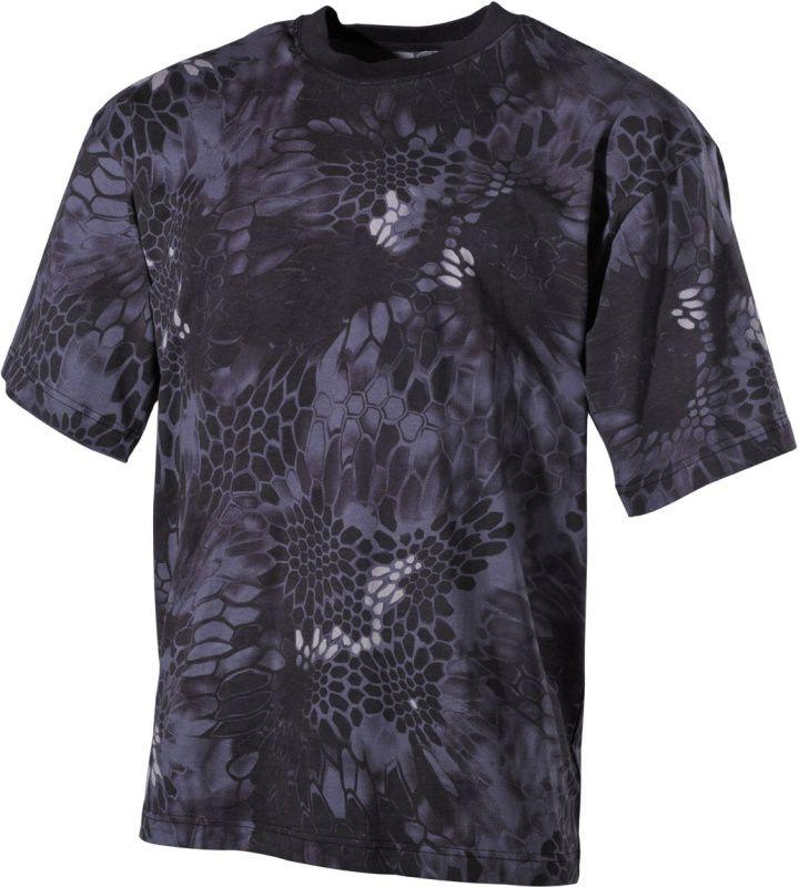 MFH Tričko snake - čierne, (00105N)
